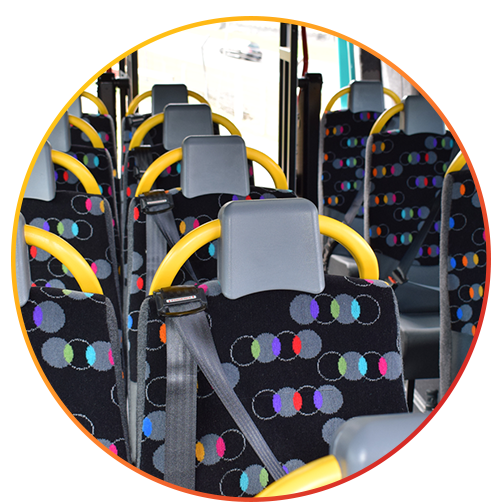 Passenger Seats for minibus, wheelchair accessible, school transport, etc