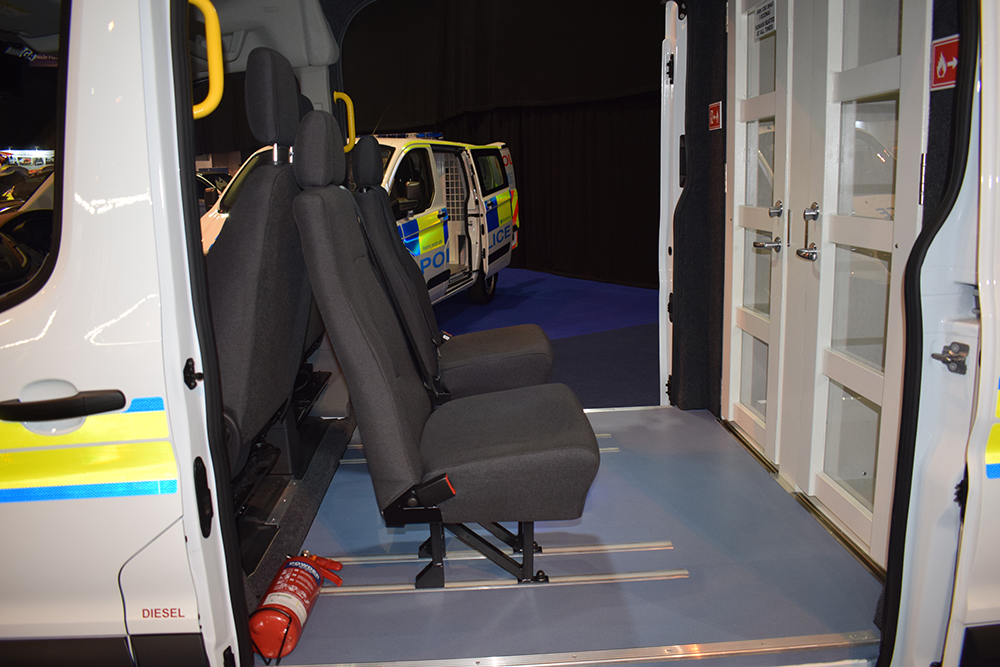 Police Cell Transport Unit NAPFM 2018 - Phoenix Seating
