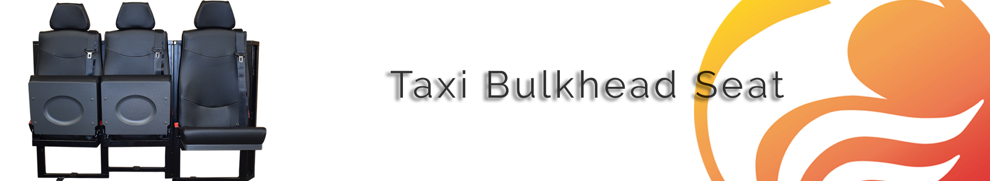 Taxi Bulkhead 3 Seater SYstem - Phoenix Seating