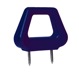 Blue Open Headrest - Phoenix Seating
