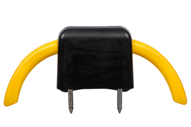 Metro Headrest - Black Yellow 2 - Phoenix Seating
