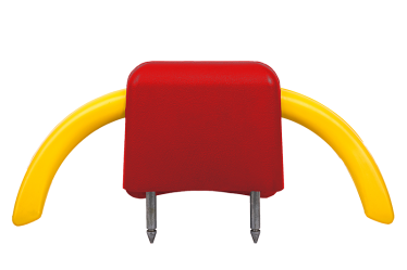 Metro Headrest - Red.Yellow - Phoenix Seating
