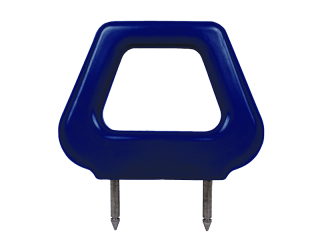 Open PU Headrest - Blue - Phoenix Seating