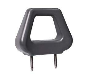 Open PU Headrest - Grey Angled - Phoenix Seating