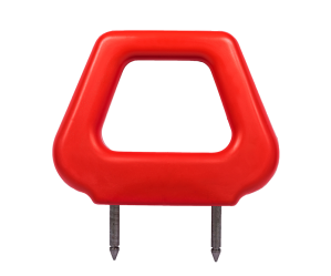 Open PU Headrest - Red - Phoenix Seating