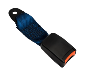 Seat Belt Web Stalk - Blue 2 - Phoenix Seating